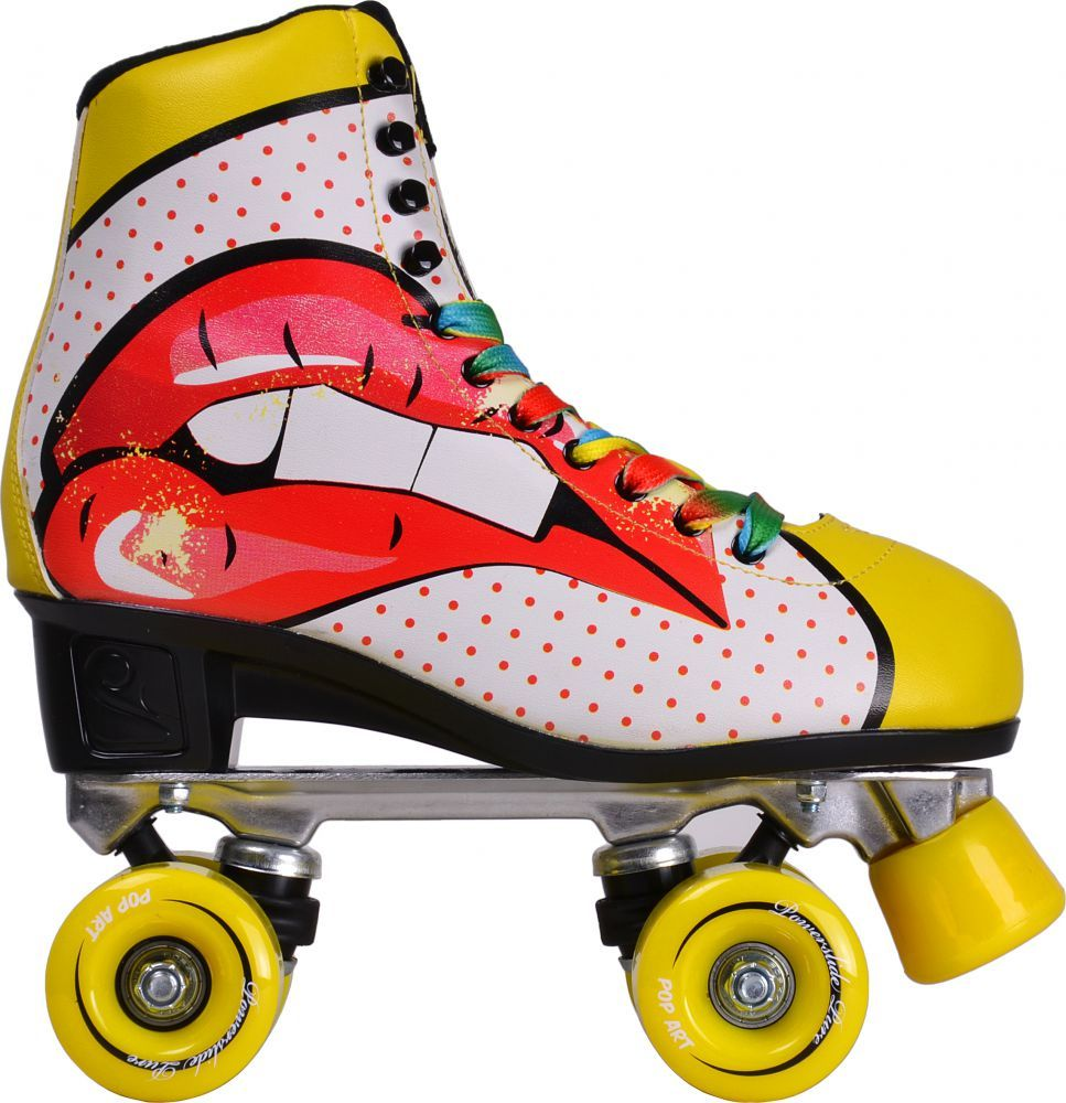 Pop out roller skate shoes - Pop