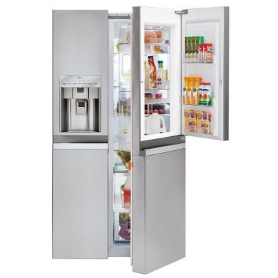 17 Best images about Counter-depth Refrigerators on Pinterest | Samsung,  Side by side refrigerator and White counters