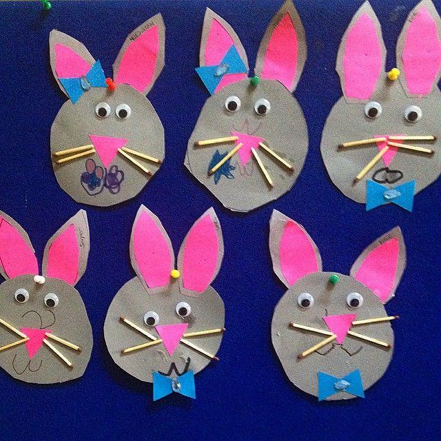 bunny craft idea 3 núbia2 pinterest bunny crafts bunny and