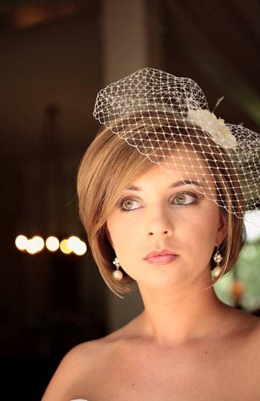 "40 Best Short Wedding Hairstyles That Make You Say ""Wow!"" 