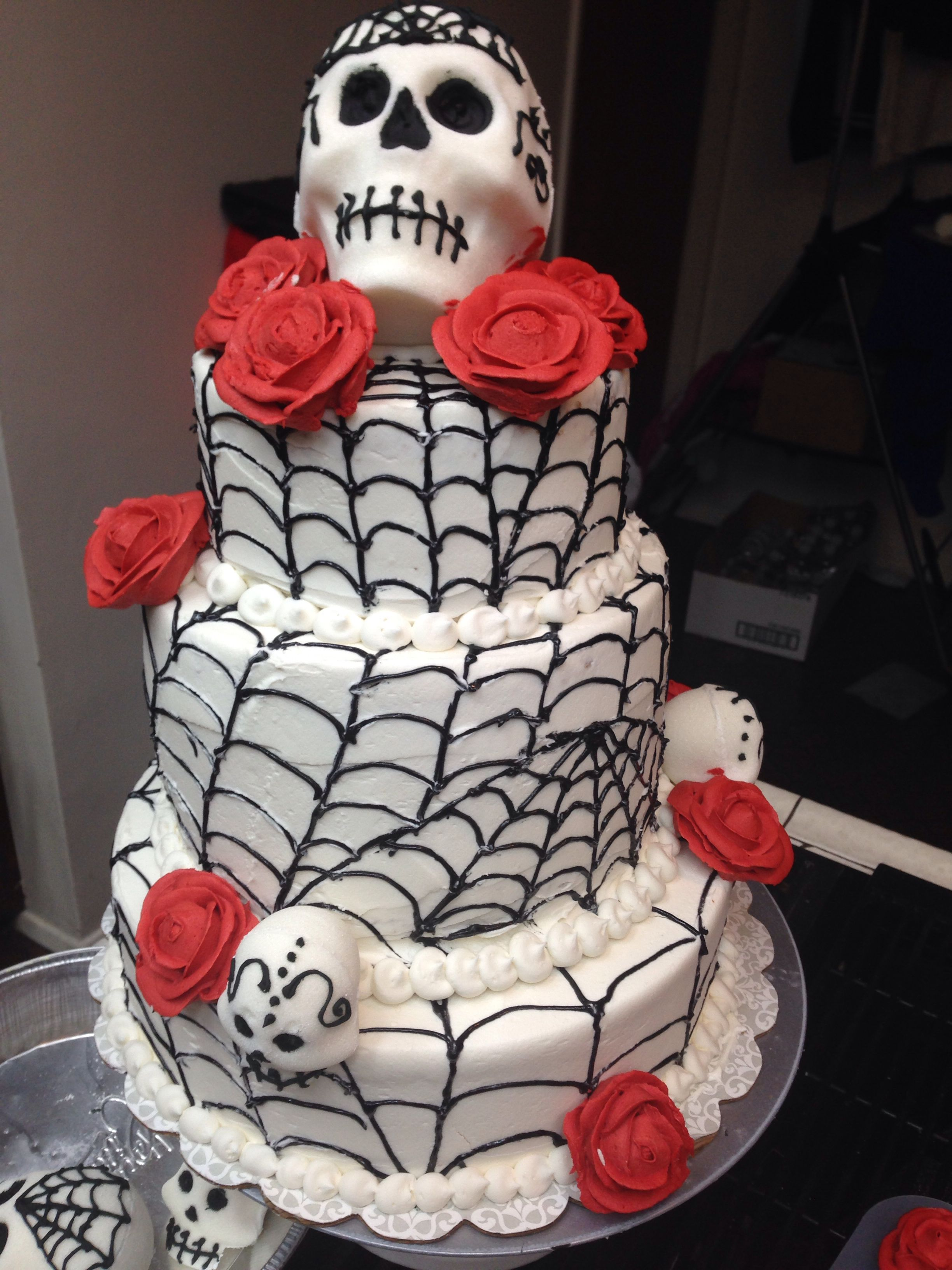 DIA de los MUERTOS halloween cake. Made by cakes by danie