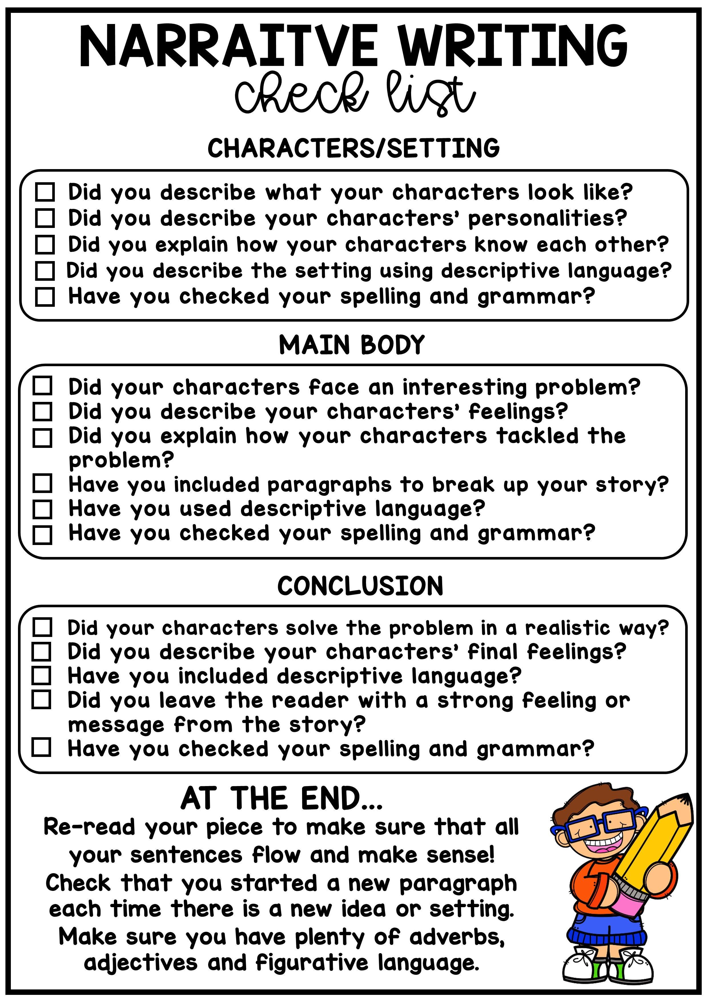 Narrative Writing No Prep Printable Persuasive Technique Grade 6
