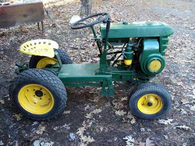 1959 Bolens Kohler K161 Tractors Garden Tractor Attachments
