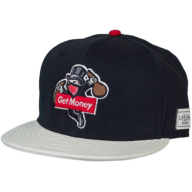 Cayler & Sons Get Money Cap black/red/snake ★★★★★