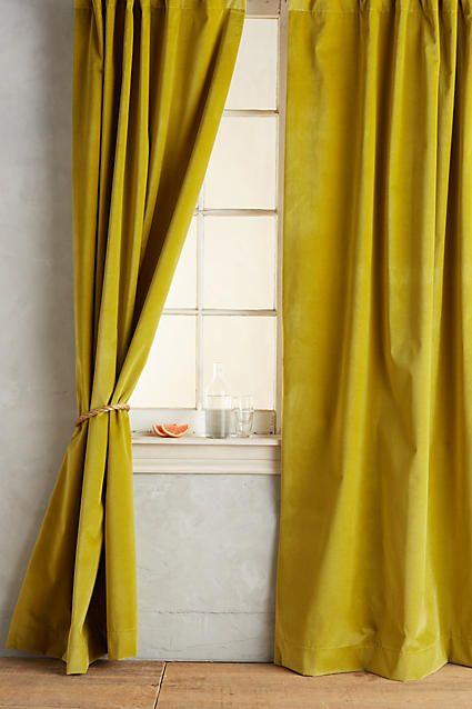Matte Velvet Curtain Curtains