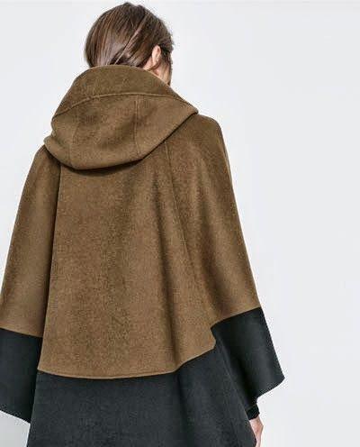 Patron abrigo de capa