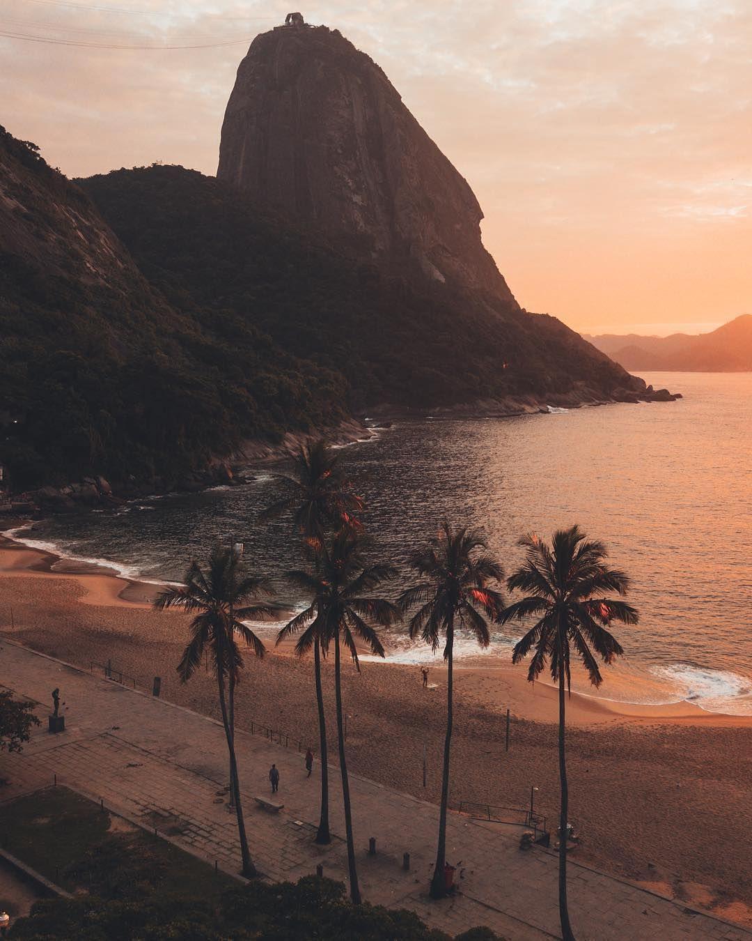 nascer do sol praia vermelha