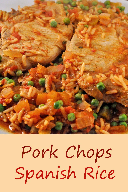 Photo of Pork Chops with Spanish Rice