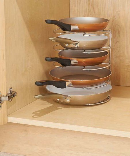 Interdesign classico skillet organizer zulily also home kitchen rh pinterest