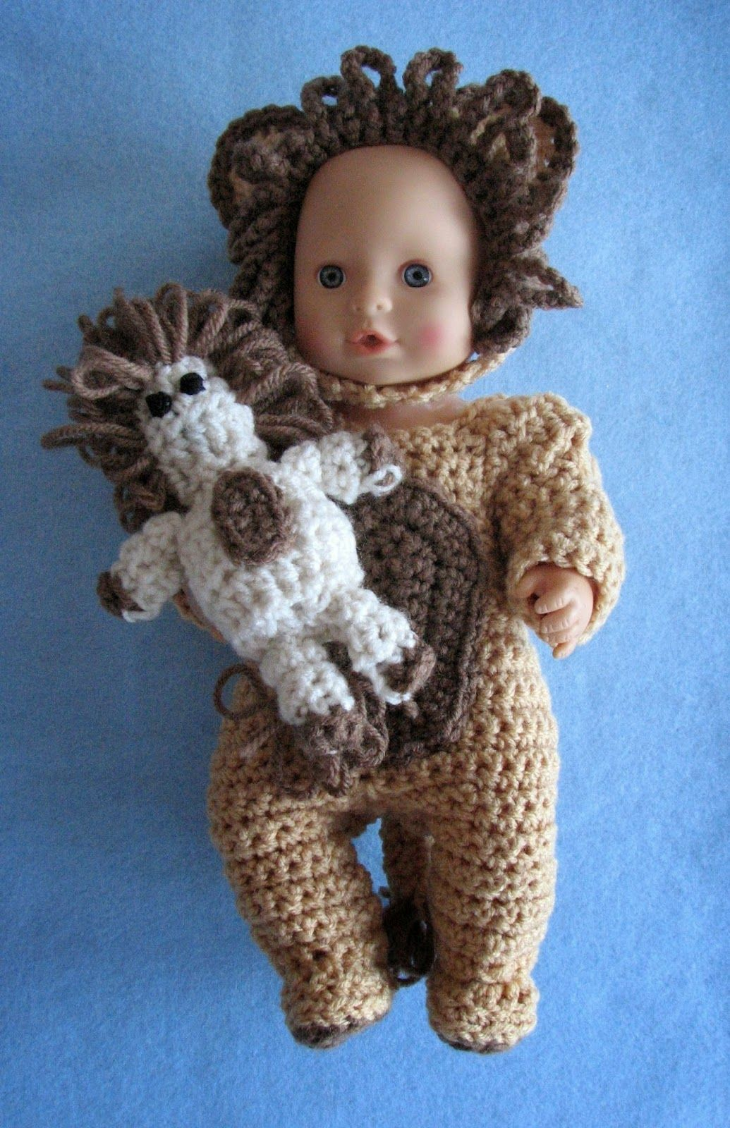 Donnas crochet designs blog of free patterns free crochet free crochet pattern lion costume for baby dolls by donnas crochet designs bankloansurffo Choice Image
