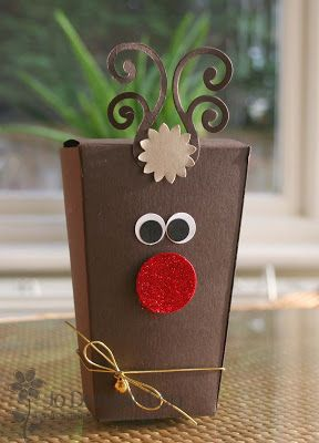Super Size Reindeer Boxes
