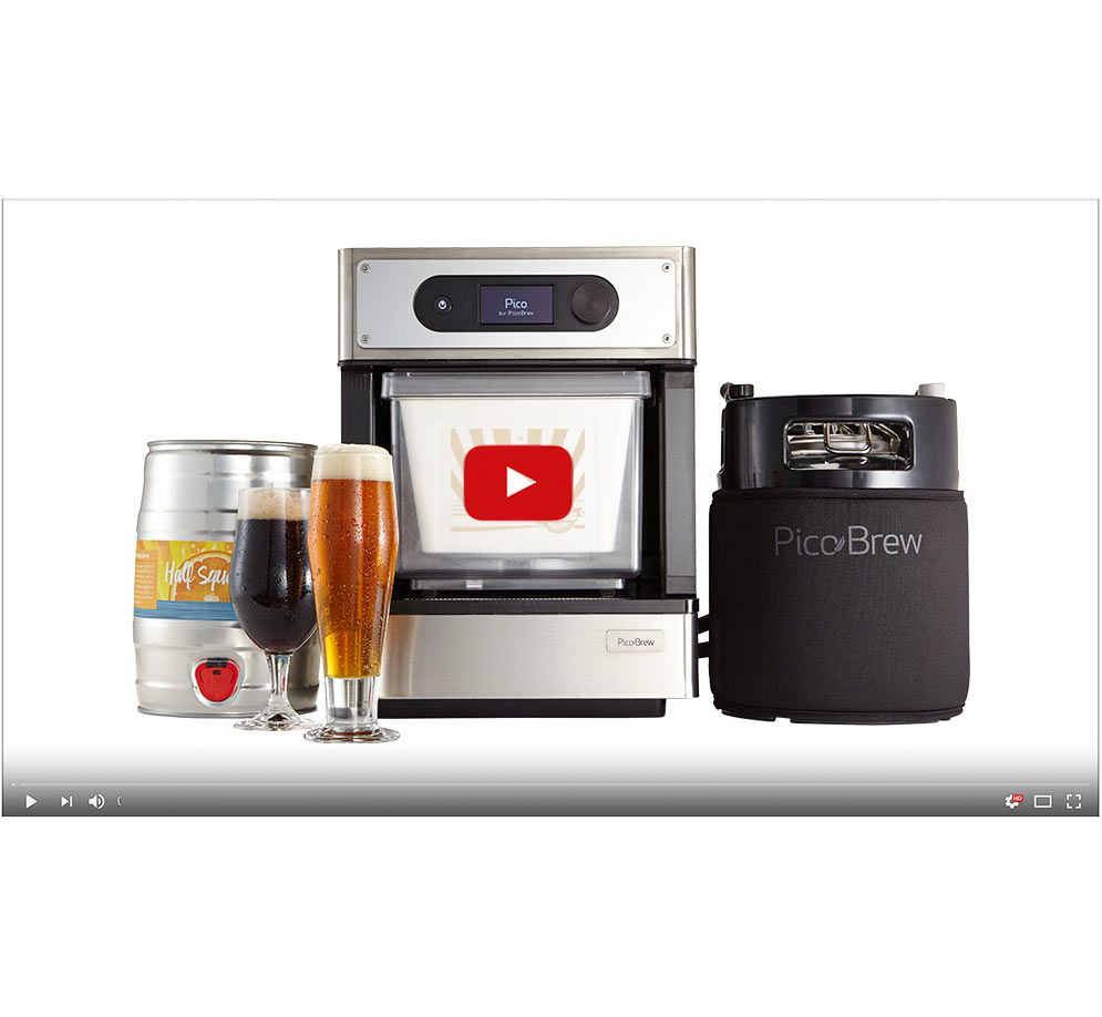 The home appliance that delivers perfectly crafted beer