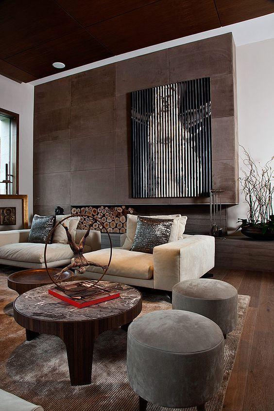 Decoracin de interiores con sofs de terciopelo sillones de