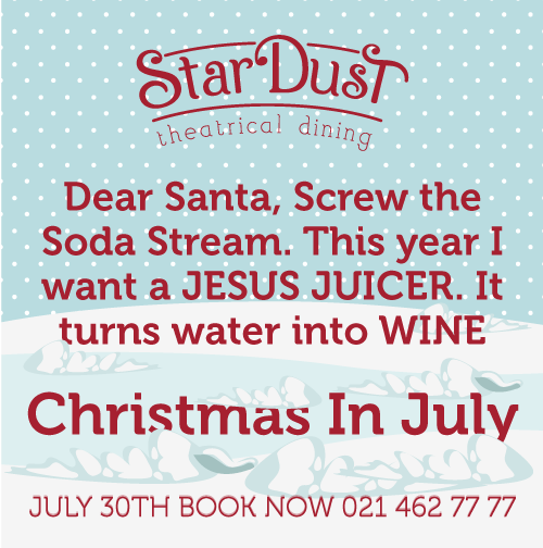 Christmas In July Ideas South Africa.Merry Christmas Dear Santa Screw The Soda Stream This