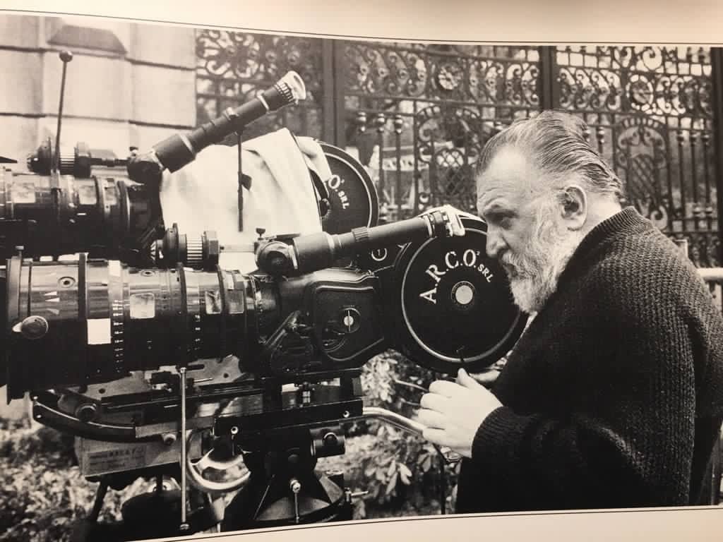 Sergio Leone On The Set Of Once Upon A Time In America Sergio Leone Film Director I Movie