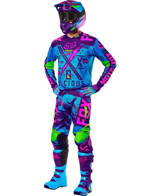 Fox Racing 180 Vicious Special Edition Motocross Foxracing Com Youth Motocross Gear Dirt Bike Gear Motocross Gear