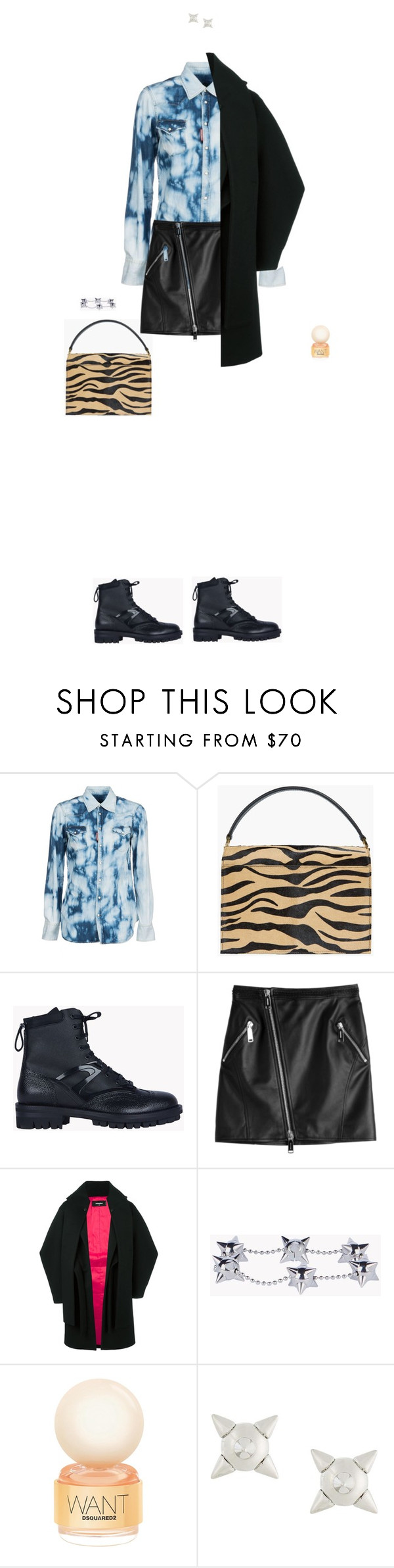 """Dsquared2"" by yulia-k ❤ liked on Polyvore featuring Dsquared2"