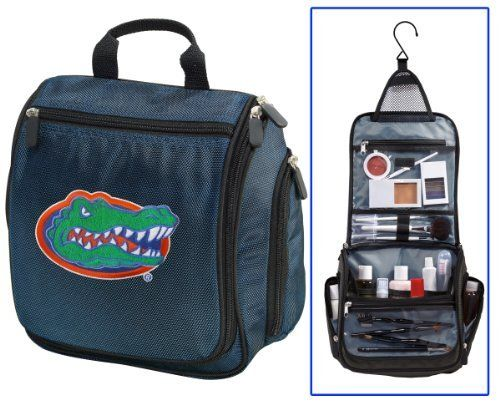 Florida Gators Cosmetic Bag or Mens Shaving Kit - Travel Bag University of Florida Makeup Toiletry Bag in Blue UNIQUE GIFT FOR MEN OR LADIES Broad Bay. $26.99