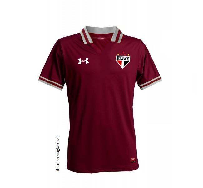 461e3ff82d Conheça o 3º uniforme do São Paulo
