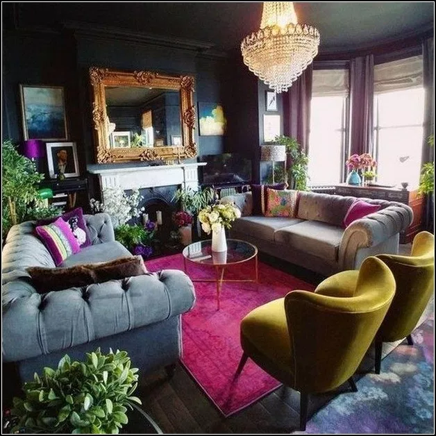 138 colorful eclectic living room  page 3 » myyhomedecor com is part of Living room decor -