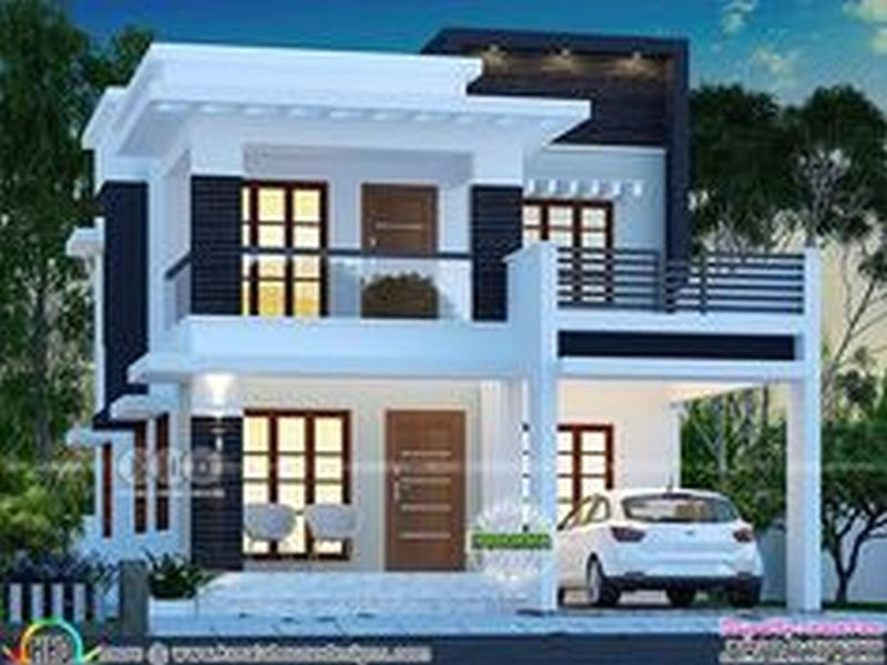 New Modern House Plans In Kerala With Asian Paints Exterior House Images With House Garden Design 2 Storey House Design Kerala House Design Duplex House Design,Hanging Over Dining Table Lighting Ideas