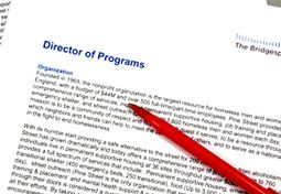 Sample Job Description Director Of Programs Small Organization