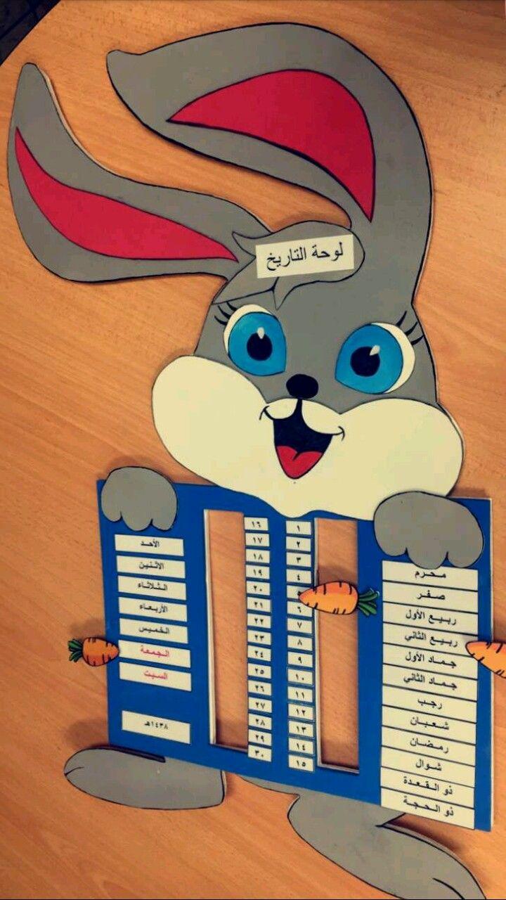 لوحة التاريخ مادة وسائل تعليمية Kids Education Preschool Learning Activities Arabic Kids