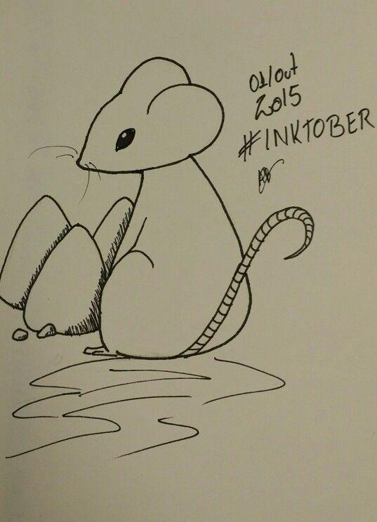 Ilustração de ontem day 1 #inktober #inktober2015