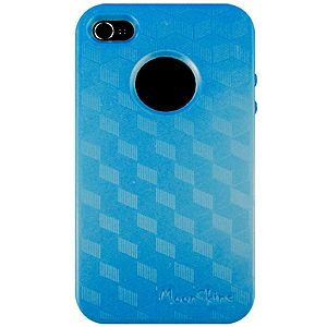 [Blue] MoonSkins Glow in the Dark Case for #iPhone 4/4S