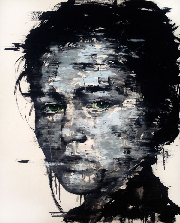 [220] untitled oil on canvas 181.8 x 259.1 cm 2013 by KwangHo Shin, via Behance