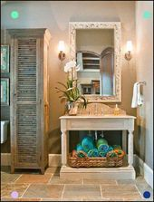 Photo of Shutter Repurposing Over A Bookcase?It's Possible Traditional Bathroom By Ho… …