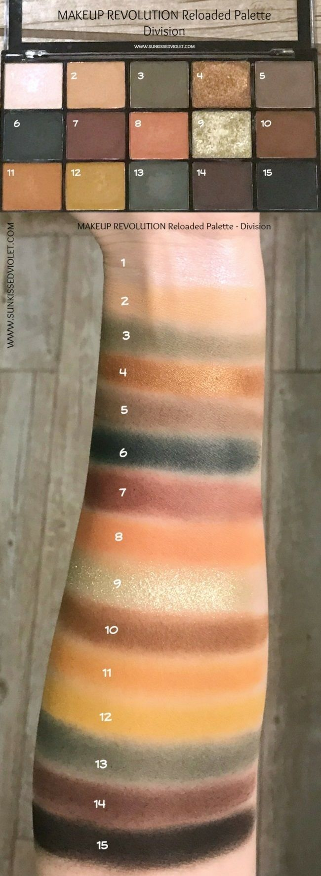 MAKEUP REVOLUTION Reloaded Palettes Swatches Review