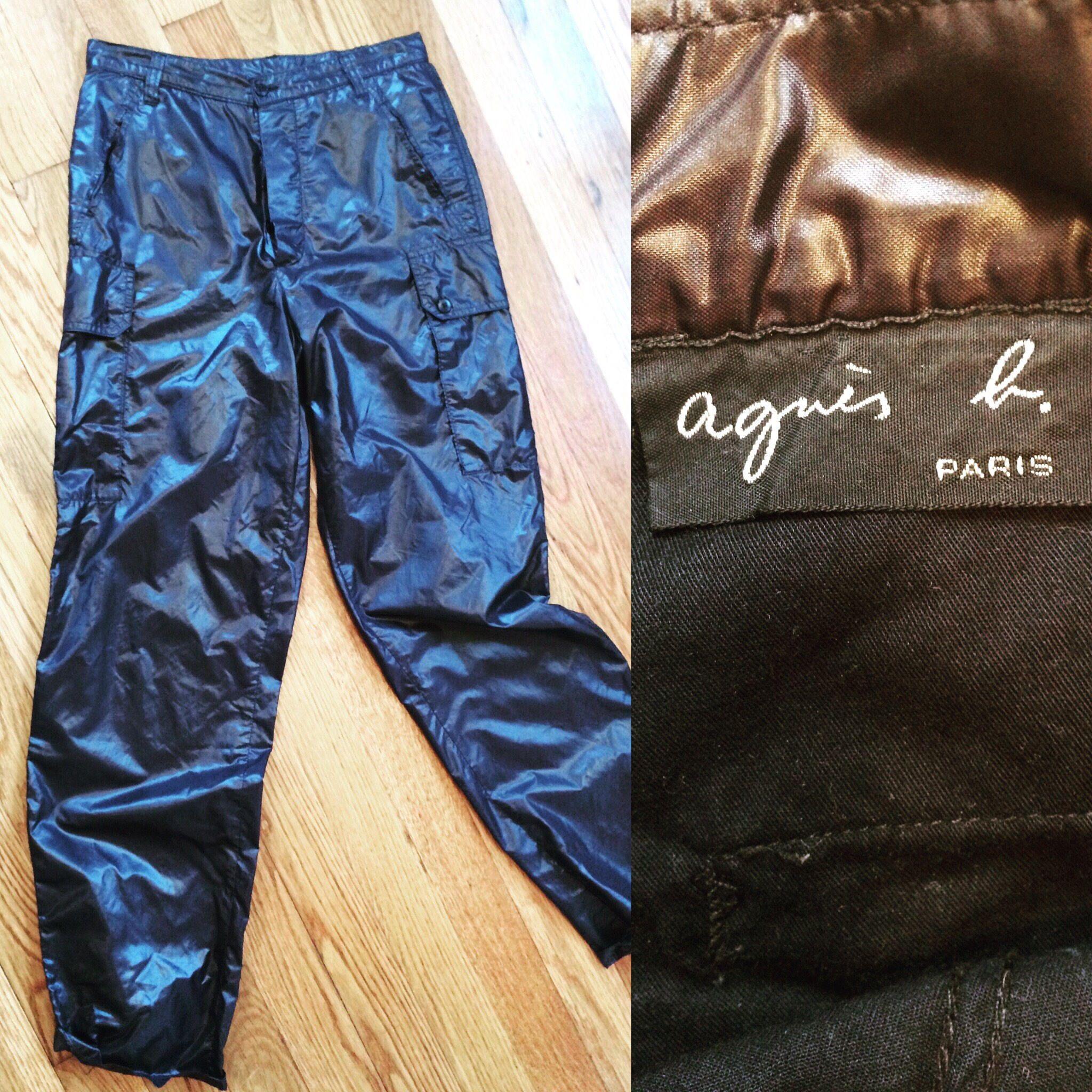 30846d49d994f0 Agnes b. Paris Vintage parachute pants size EU 40 Rare