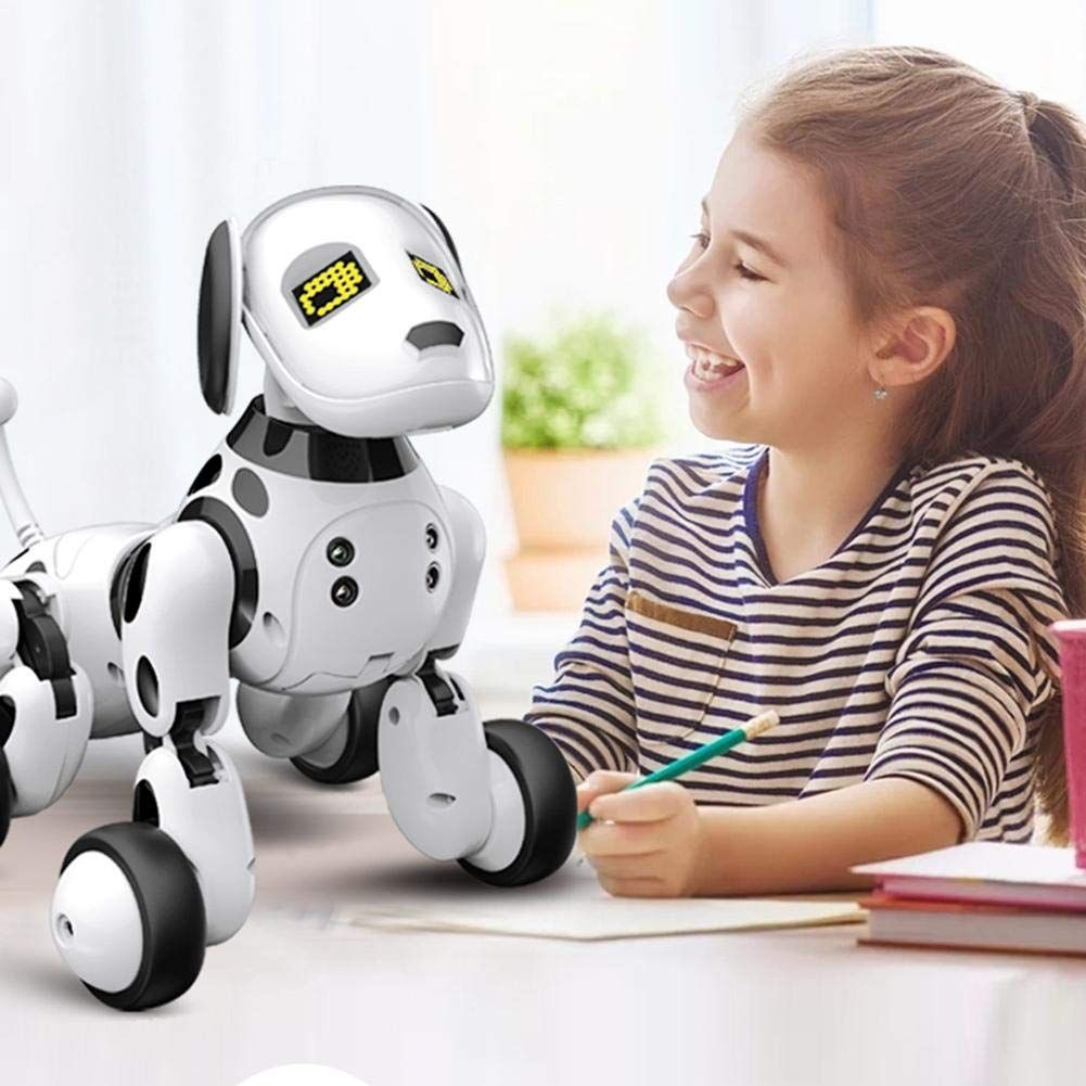 Longshow Kids Electronic Remote Control Robot Dog Toy Dimei 9007a