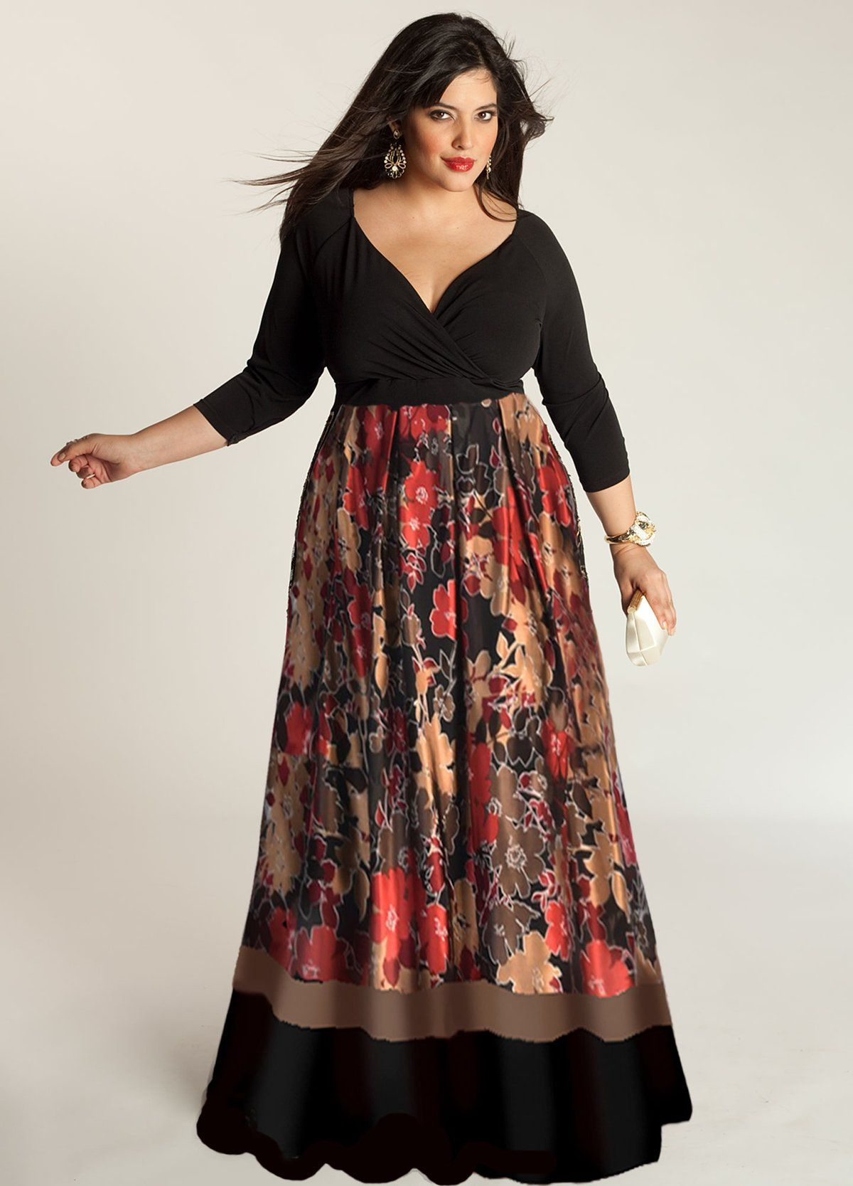 Aisha Plus Size Dress (Made To Order) in 2019   Mother of ...