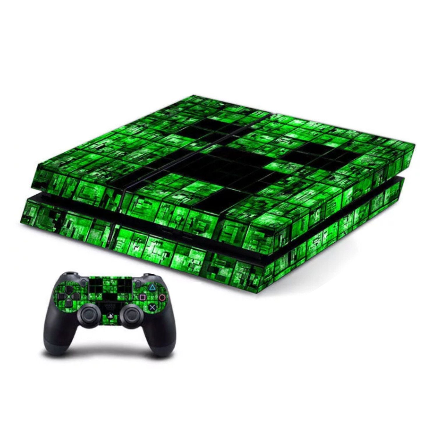 Minecraft Ps4 Controller Light Stickers Year Of Clean Water