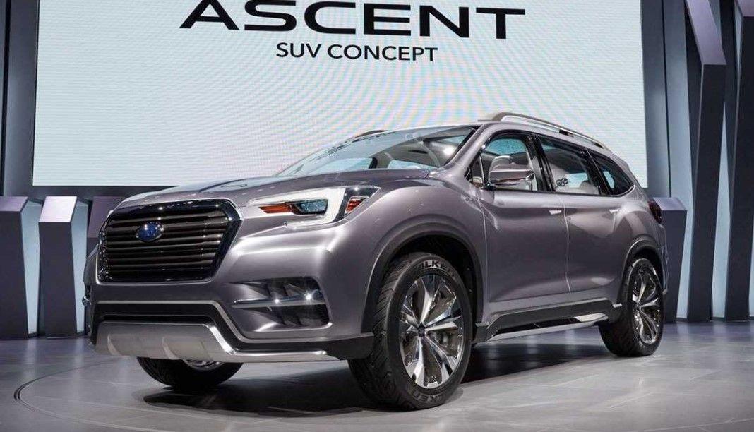 2019 Subaru Ascent View Design, Engine, Specs & Price