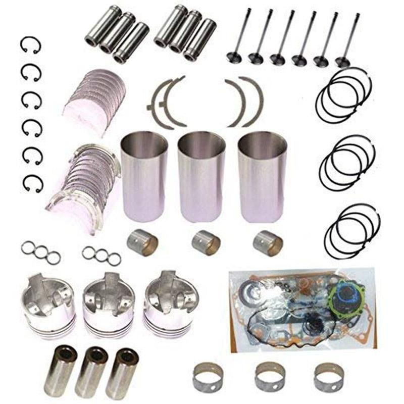 Wiseco PK1681 50.00 mm 11.0:1 Compression ATV Piston Kit with Top-End Gasket Kit