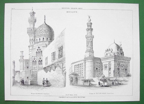 ARCHITECTURE Egypt Cairo Mosque El Habakee & of by martin2001