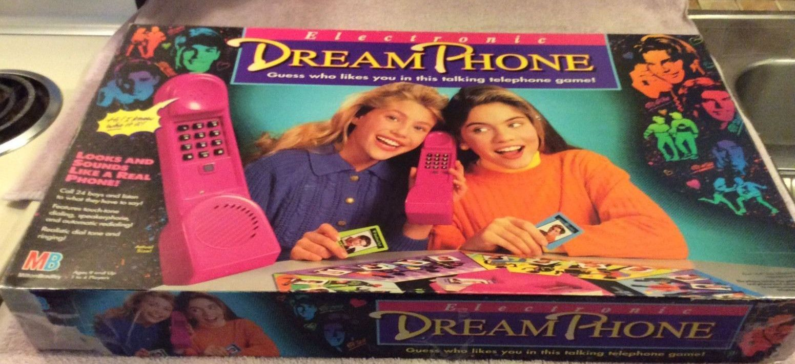 Rare Electronic Dream Phone Board Game Complete Dream