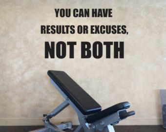 Sports quote wall decal there is no off season gym wall decal