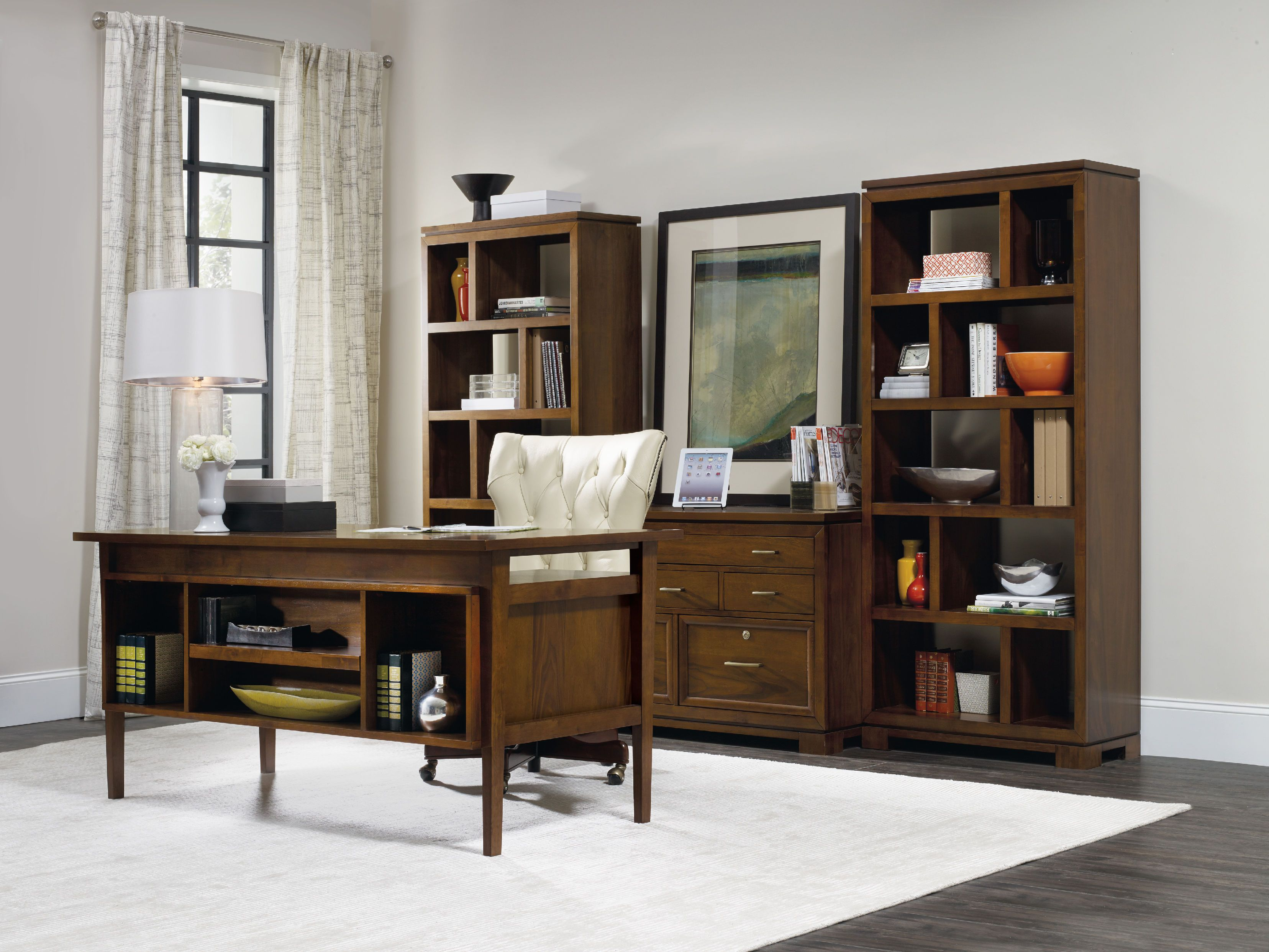Hooker Furniture Home Office Viewpoint Desk   Hendricks Home Furnishings    Virden, Springfield And Taylorville, IL