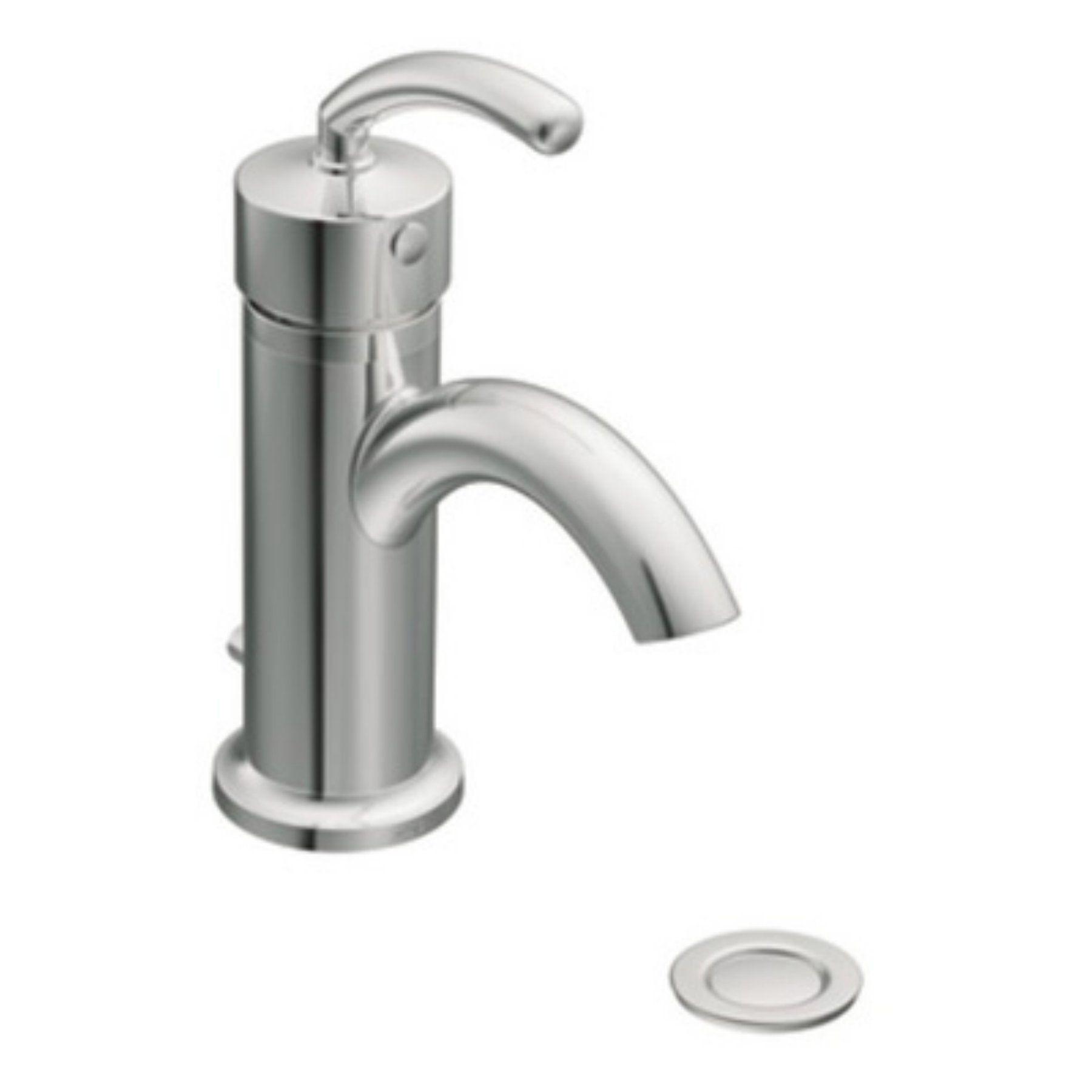 Moen Icon S6500 Single Hole Bathroom Sink Faucet Ms6500bn