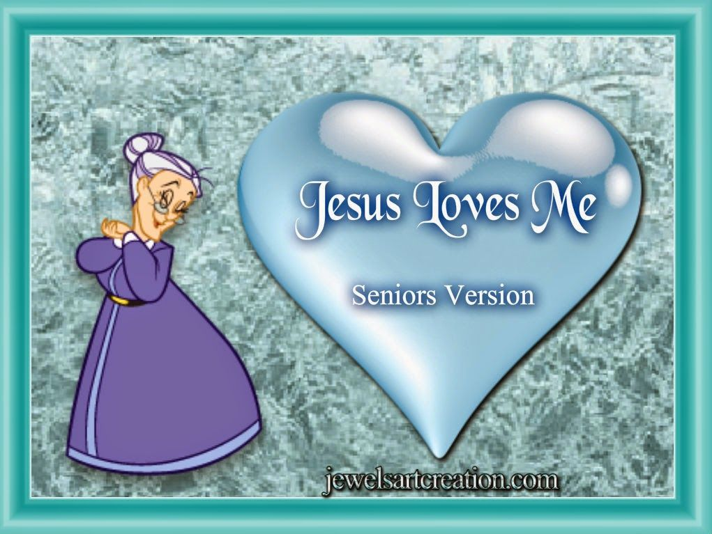 Jesus Loves Me | Jewels Art Creation