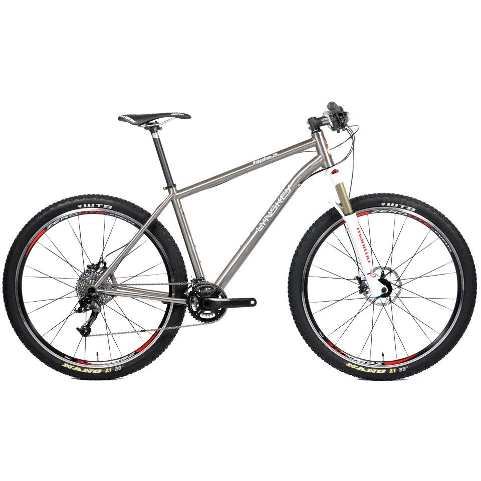 Lynskey Ridgeline 29 Vf Titanium Hardtail 29er Mtb With Sram X9 Lynskey Performance Titanium Bicycles Bicycle Bike Frame Bike
