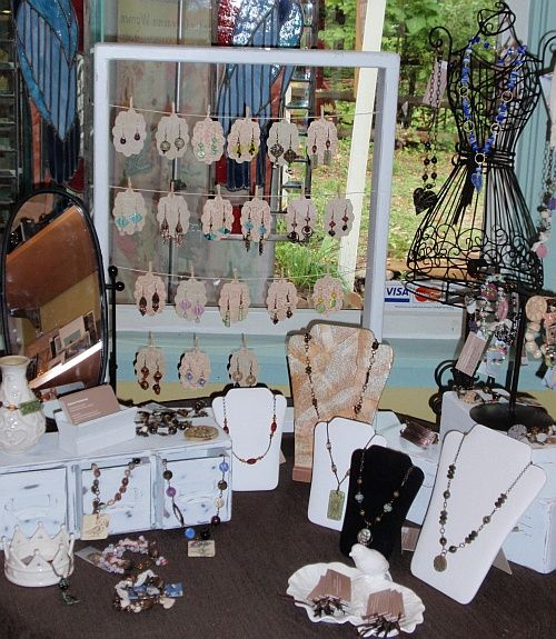 Setting Up For A Show Craft Show Displays Jewellery Display Craft Display