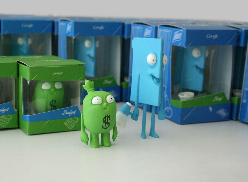 Toy Art Ads Google