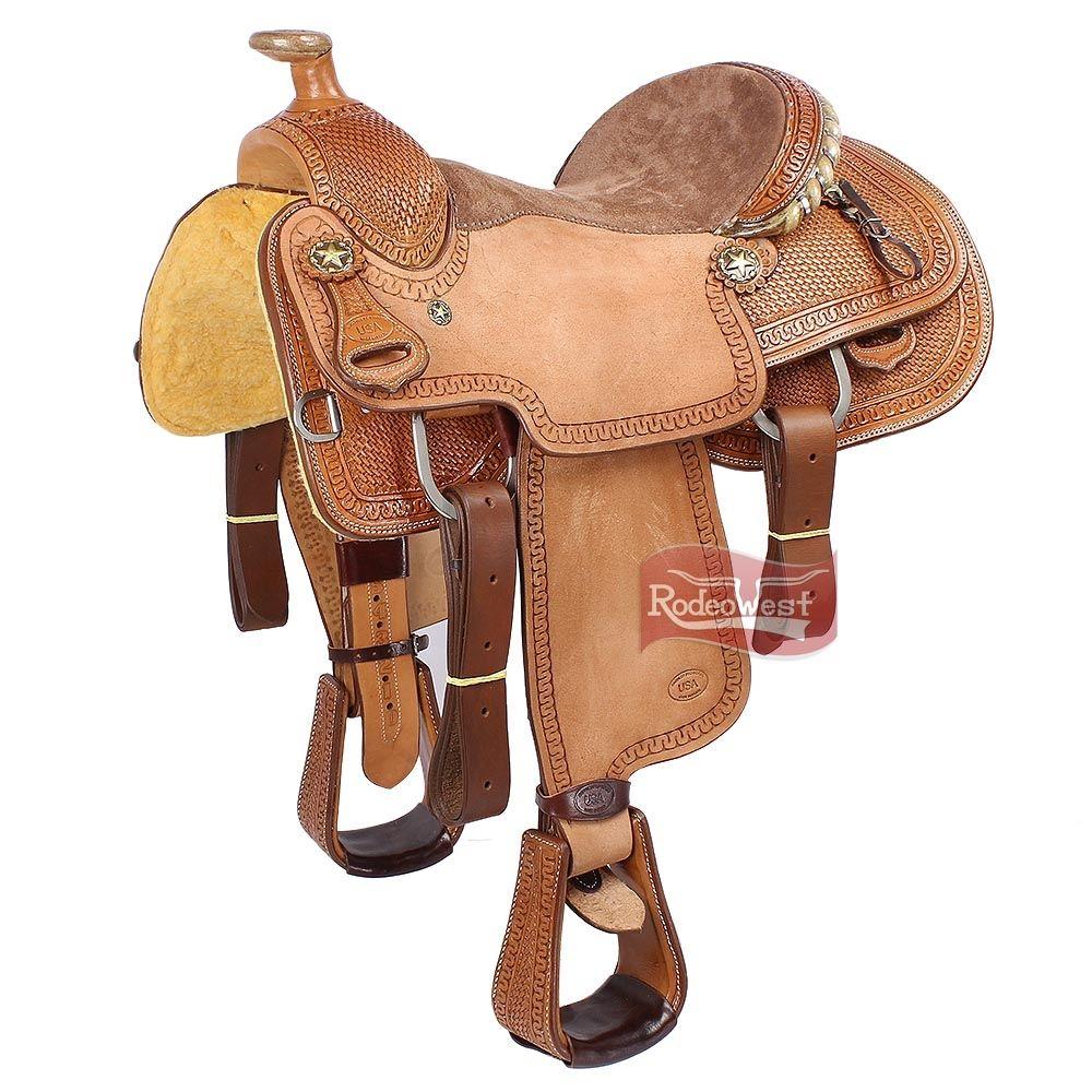 b86a05f74f6 Sela Laço em Dupla Profissional 15   - Pro Horse 16496