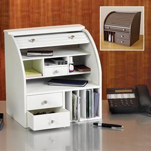 Roll Top Desk Organizer Desk Organization Organization Items Roll Top Desk