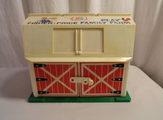 Fisher Price Barn 1967 Fisher Price Toy Play Family Farm Door